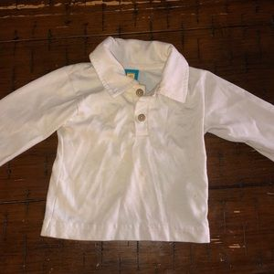 Other - Cream collared shirt